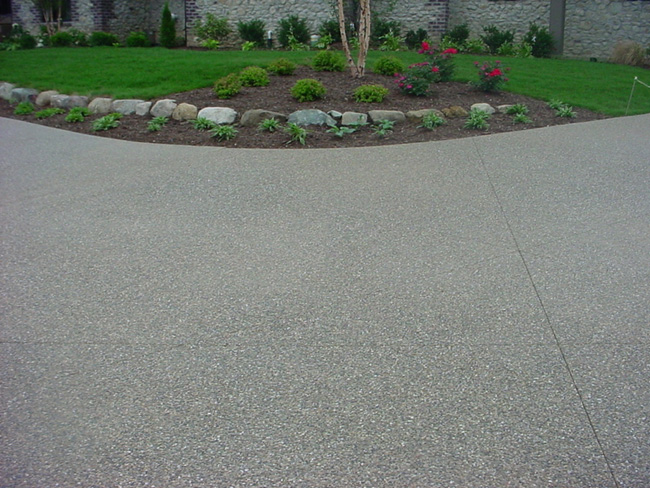 Exposed Aggregate Concrete Surface Finishing Aggregate