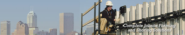 Complete Jobsite Forming and Shoring Solutions